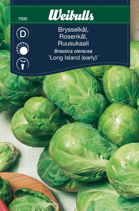 Rosenkål ´Long Island`