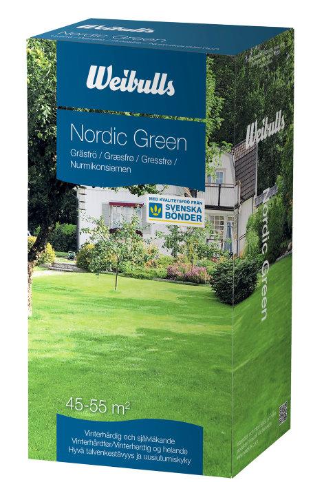 Gräsfrö Nordic Green 1 kg