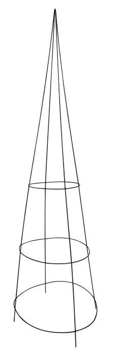 Spaljé konformad 140 cm