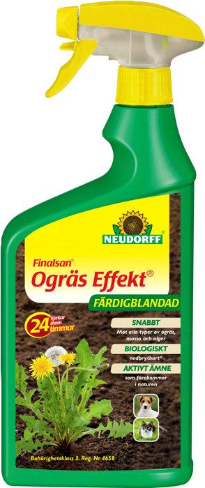 Ogrässpray Effekt