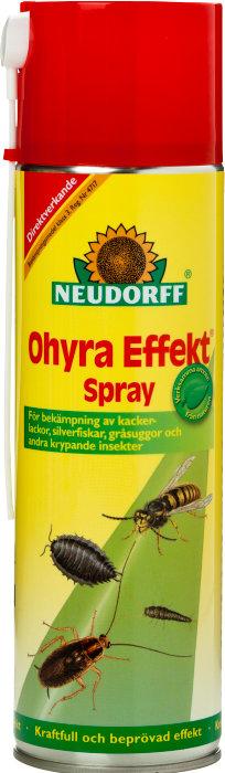 Insektsmedel Ohyra Effekt