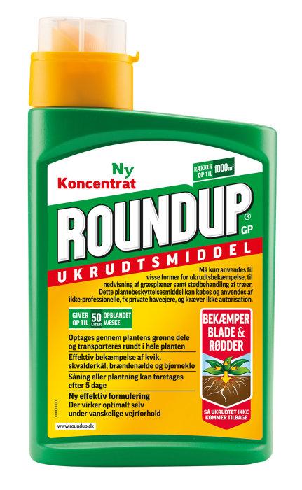 Roundup koncentrat 1 liter