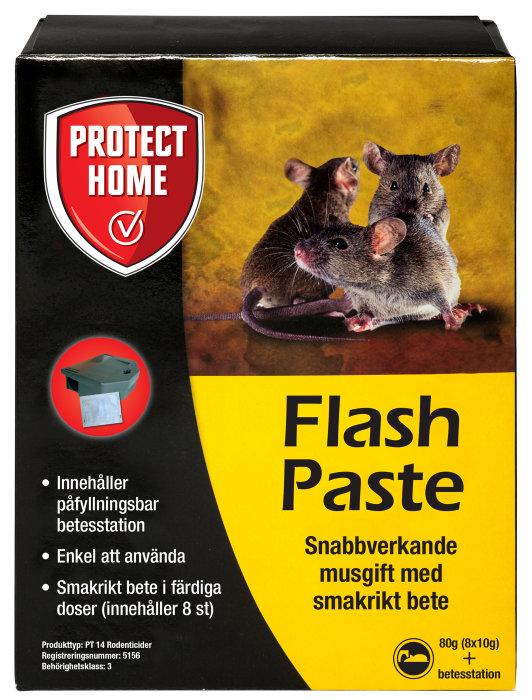 Musmedel Flash paste 80g
