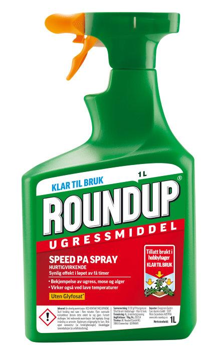 Roundup PA spray 1l