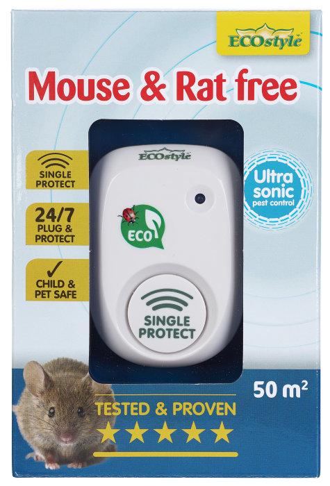 ECOstyle mus & rottefri ultralydsskræmmer