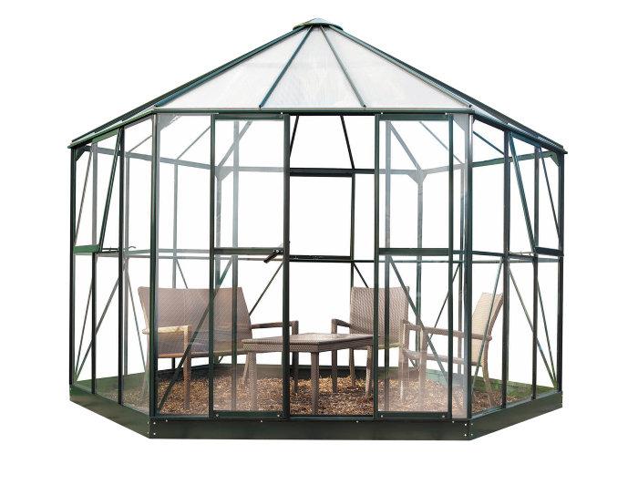 Växthus Atrium Grön