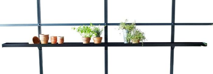 Juliana integreret drivhushylde 3 sektioner