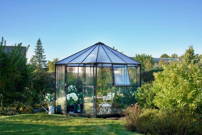 Växthus Atrium Antracit