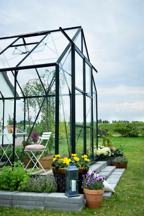 Växthus 9,9 m² Magnum 128