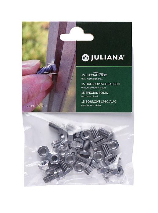 Juliana specialbolte til drivhus 15 stk.