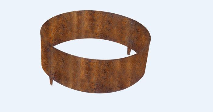 TrädringStål Obehandlad 60 cm