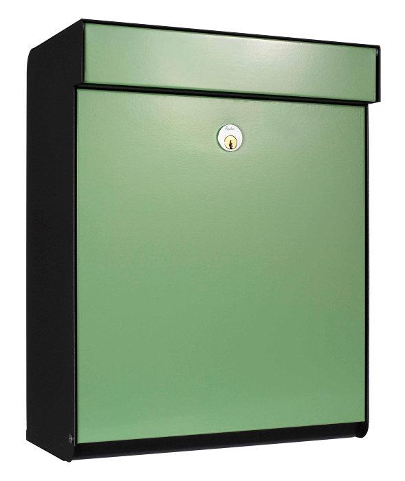 Allux postkasse Grundform - grøn