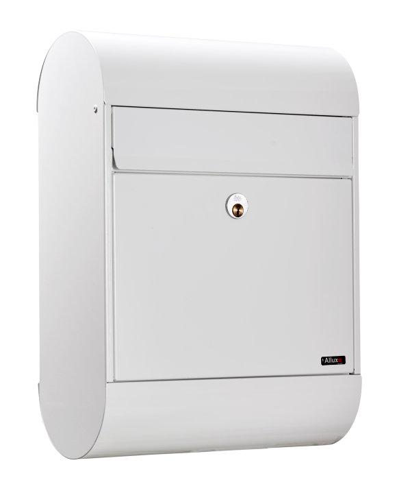 Allux postkasse 6000 - hvid
