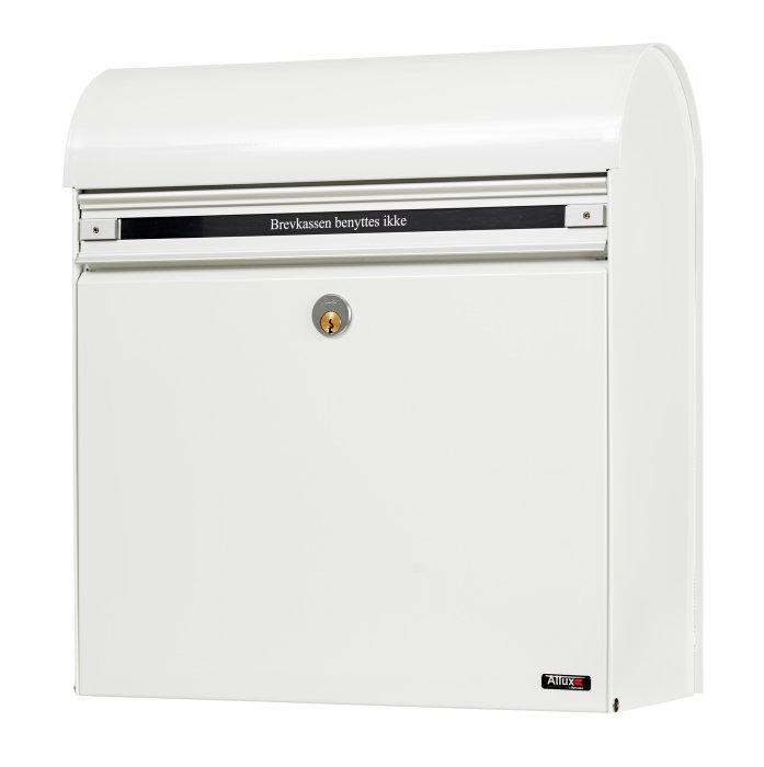 Allux postkasse KS200 - hvid