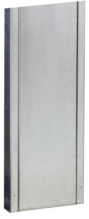 Allux postkassestander 1001 - galvaniseret