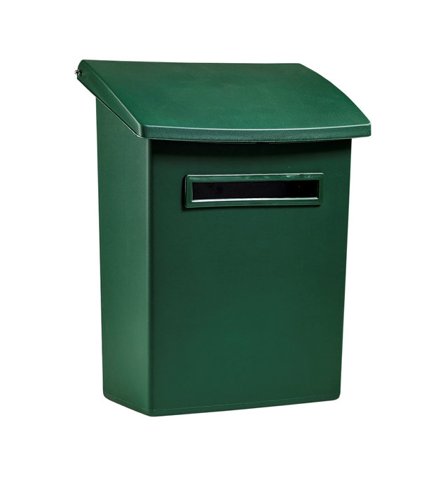 Postlåda Grön