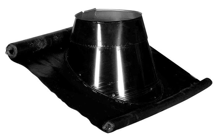 Blyfri flexinddækning 33-45 grader sort
