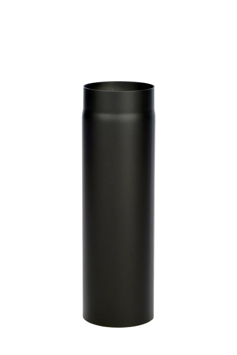Pejserør forlænger 50 cm m/indkravning sort