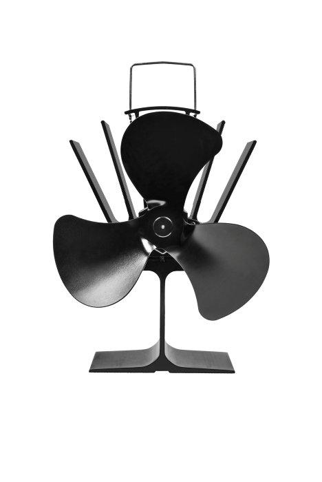 Varmemølle til brændeovn - Klimacom