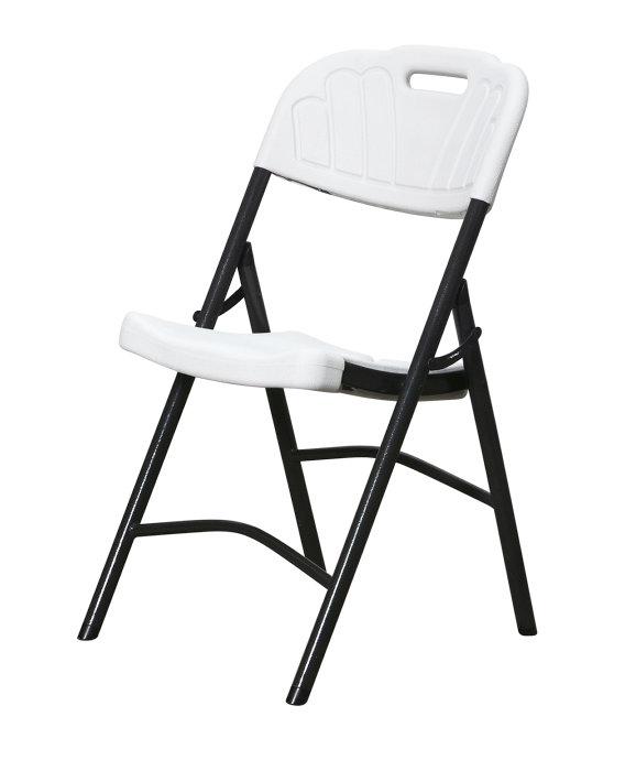 Fantastisk Klapstol til haven - sort/hvid | jem & fix DY47