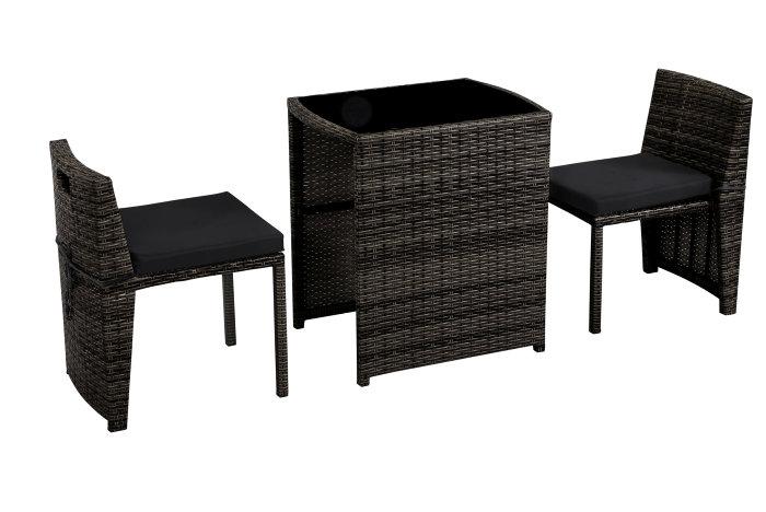 Opdateret Cafésæt med bord og 2 stole | jem & fix EP36