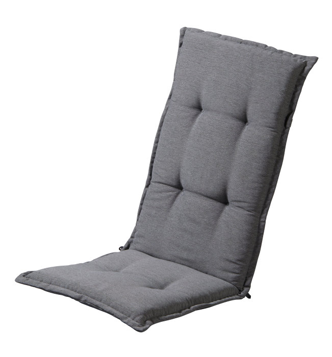 Sæde-/ryghynde til positionsstol - lysegrå