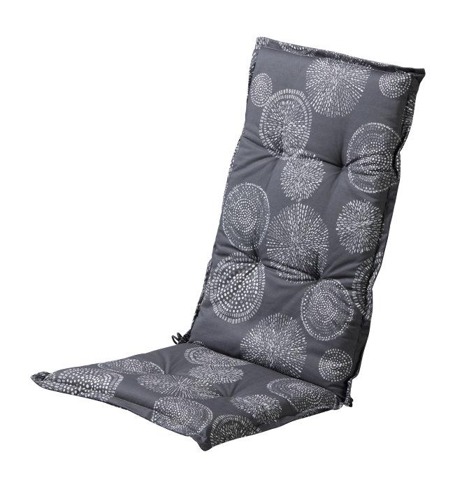 Sæde-/ryghynde til positionsstol grå mønster - Sunlife