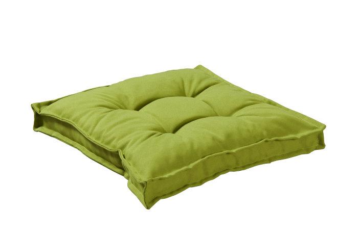 Sædehynde 45 x 45 x 10 cm - limegrøn