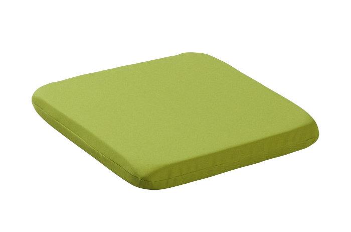 Sædehynde til caféstol - limegrøn