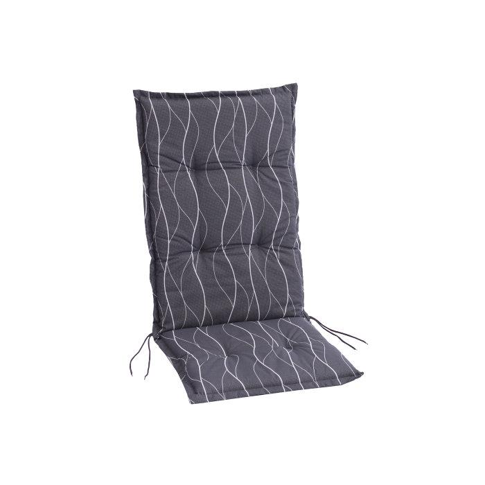 Sete/ryggpute Doha for posisjonsstol - grått mønster - Sunlife
