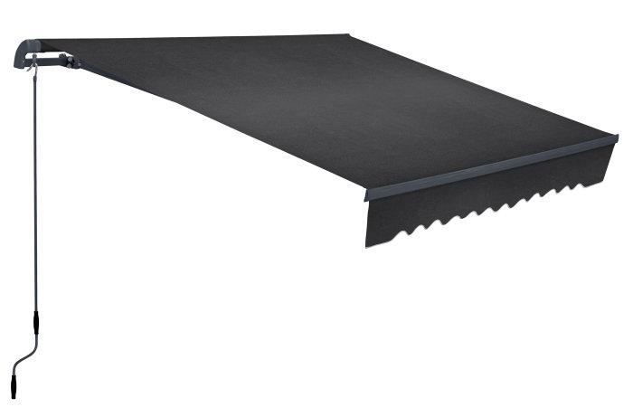 Markise 2,95 x 2 m antracitgrå