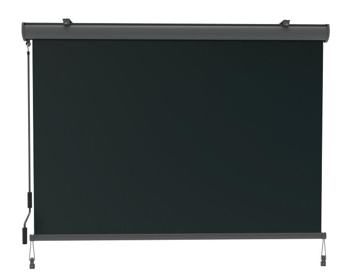 Solskjerming 160x240 cm grå