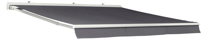 Markise manuel grå B480 x D300 cm