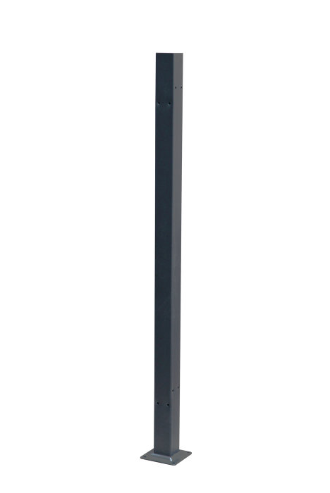 Stolpe til sidemarkise 7 x 7 x 140 cm