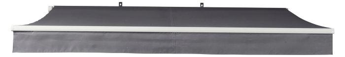Markise manuel B290 x D250 cm hvid/grå