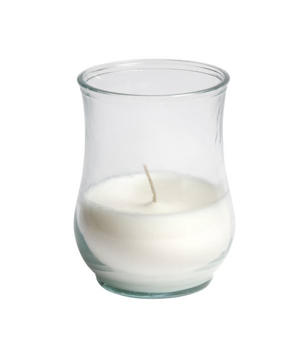 Stearinlys i glasstage
