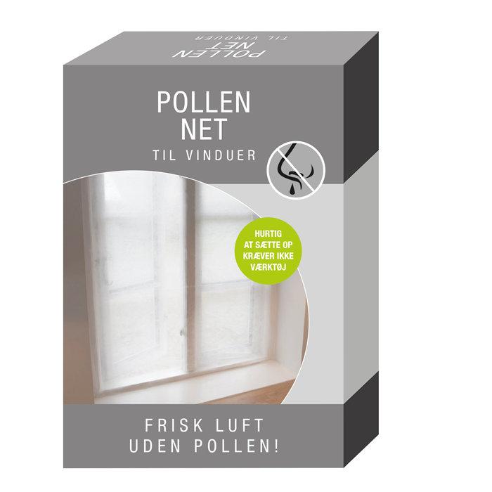Pollennet til vinduer 2 stk. á 130 x 150 cm