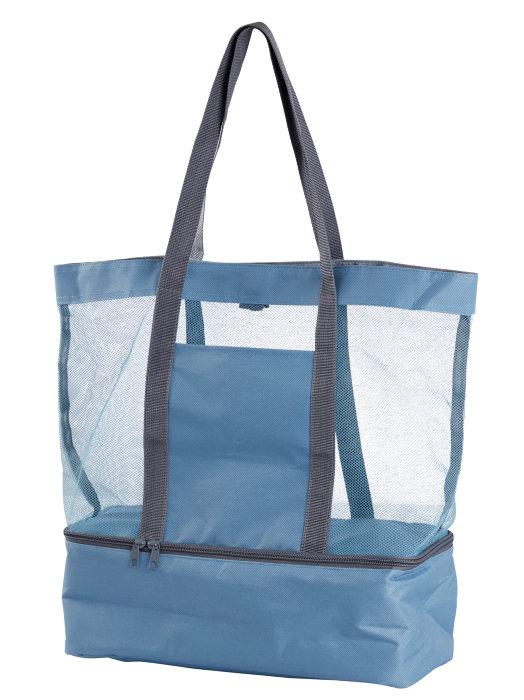 Strandtaske med indbygget kølerum