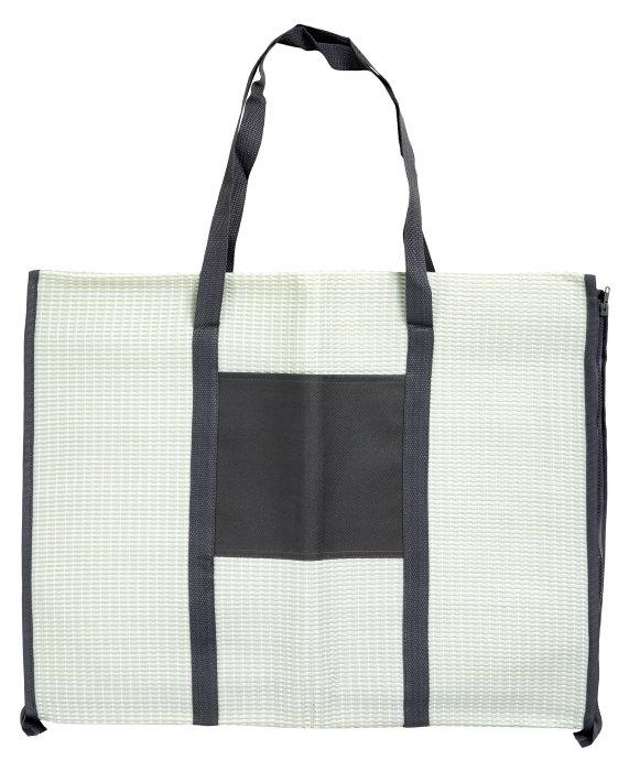 Strandmåtte/taske med hovedpude mintgrøn - Outfit