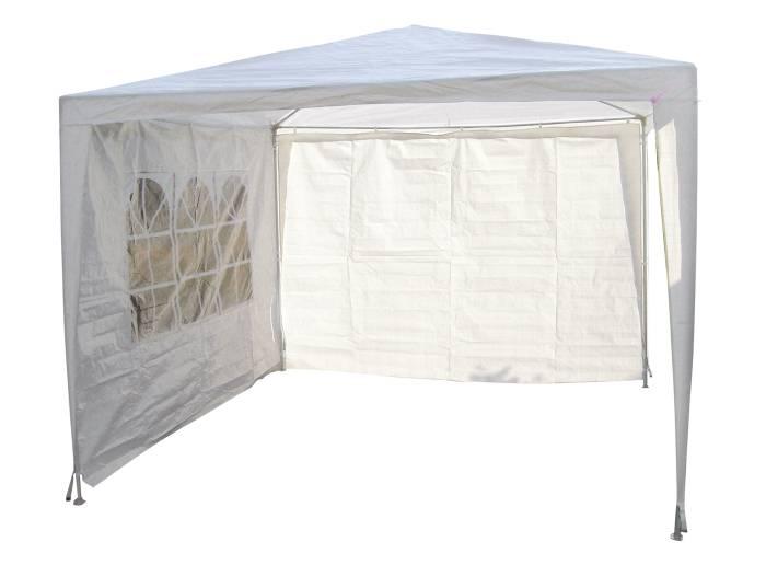 Sidevæg Lido til pavillon 3x3 m eller 3x9 m - Sunlife