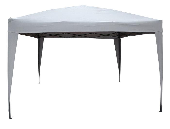 Easy up pavillon Empoli 3x3 m grå - Sunlife