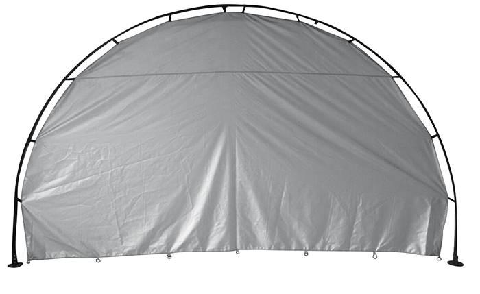 Sidevæg til shelter 335/240 x 190 cm