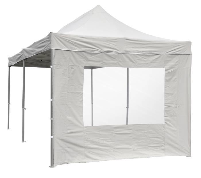 Sidevæg til pavillon 3 m m/myggenet