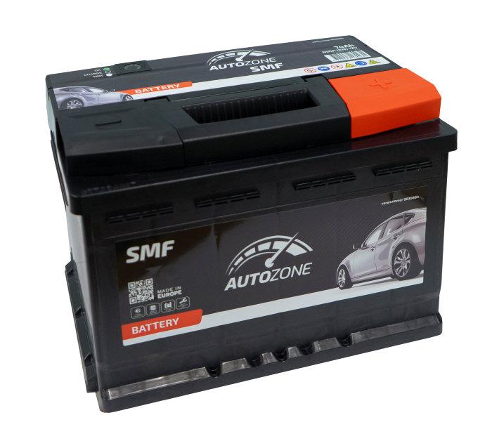 Autobatteri 12 V. 74Ah (+h)