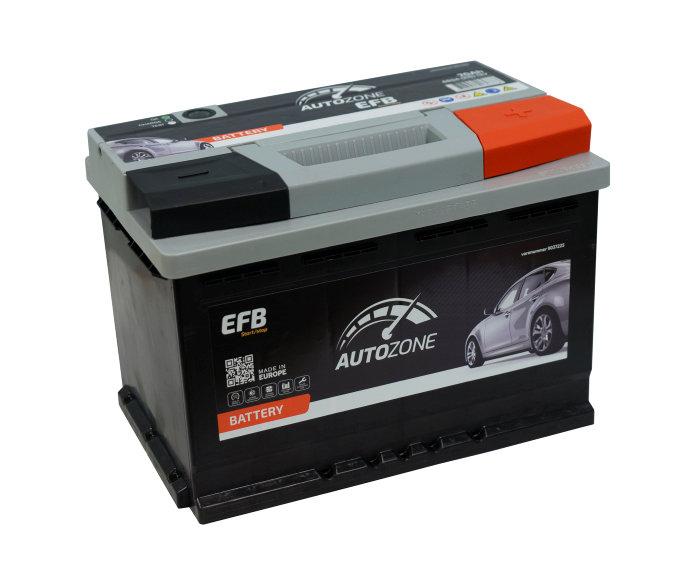 Autobatteri 12 V. 70Ah (+h). Start/stop.