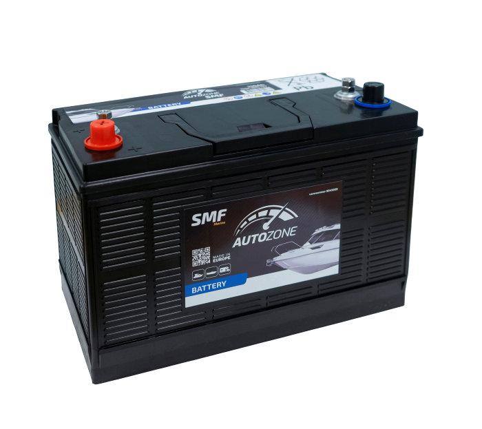 Marine batteri 12V 110Ah (+v)