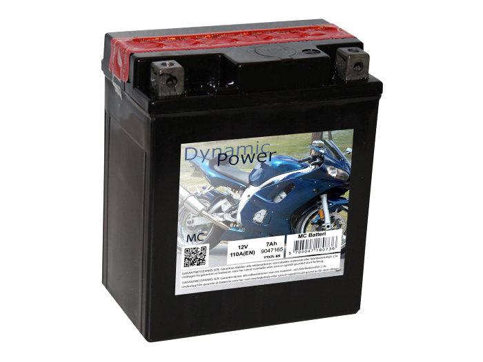 Batteri 12v/7ah (+h) til mc