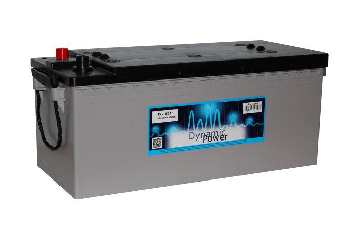 Marine batteri 180ah (+v)