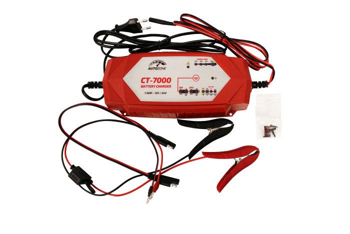 Batterilader 3,5-7A/12-24V - Autozone