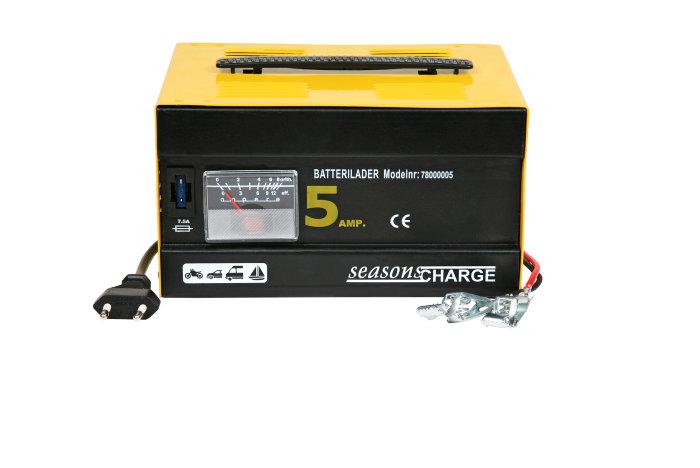 Batterilader 5 amp
